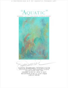 'Aquatic' Artists' Reception Annoucement