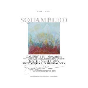 """Squambled"" Artists' Reception Announcement"